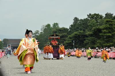 関西2dayチケットを使って 京都・葵祭り&開創1200年に盛り上がる高野山 今だけ~を満喫しました(≧∇≦) その1