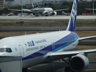 4ヵ月振りの日本、ANAの機内食 和食で お.も.て.な.し.を楽しむ − 5月 2015年