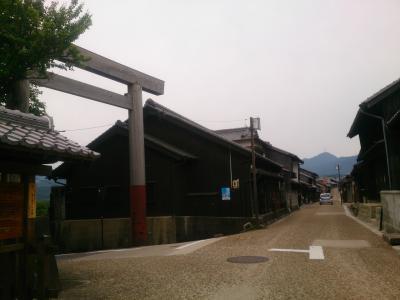 関宿と町並み