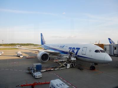 NH 成田→シアトル B787-8 ビジネスクラス