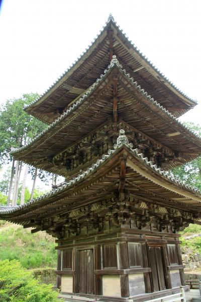 湖南三山の国宝本堂を巡拝してきました。仏像も素晴らしいです。