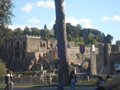 ローマの休日を意識しつつ遺跡も