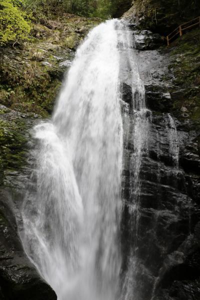 21代雄略天皇が訪れたと伝説のある蜻蛉の滝