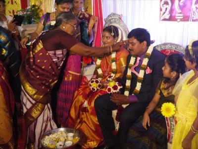 南西インド紀行16☆チダムバラムの結婚式