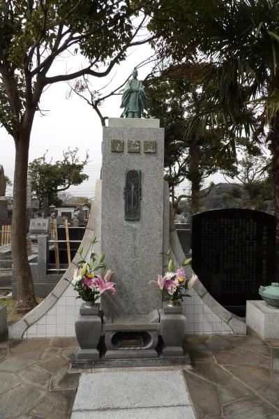 前島密翁の墓所(横須賀市芦名)