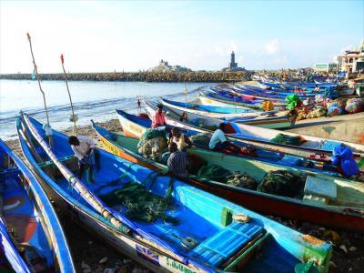 南西インド紀行19☆アシュラムに泊まれず漁師町を行く