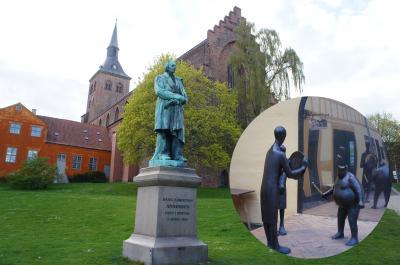 北欧神話のオーディンから命名したフュン島のオーデンセ