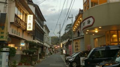 レトロな街、温泉津温泉。