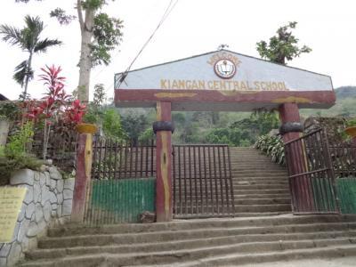 ルソン山紀行(26)キアンガン小中学校(Kiangan Central School)。