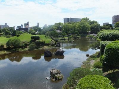 熊本でお散歩 in 水前寺公園