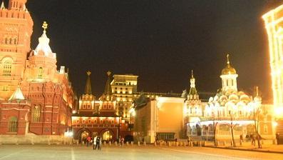 還暦夫婦の世界一周 モスクワ グム百貨店でお土産