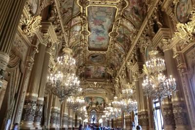 パリの王道観光(オペラ座~グラン・マガザン)6日目後半