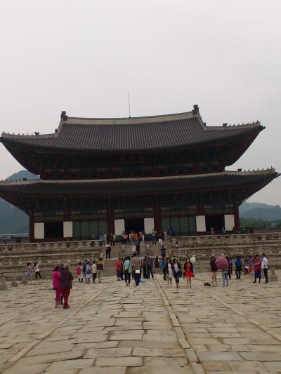 ソウル 世界遺産 景福宮(1)