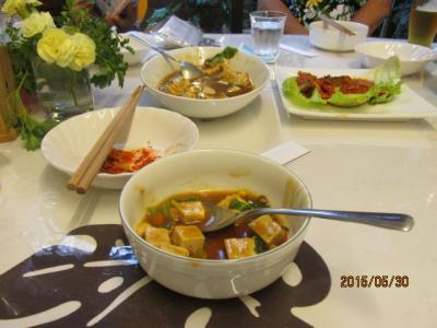 立川、「Seven Bell's」の「斎料理」。