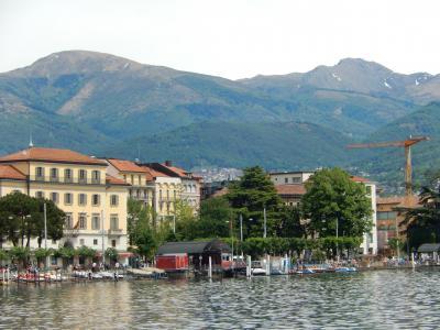 スイス 「行った所・見た所」 ルガーノ湖畔・市街地散策