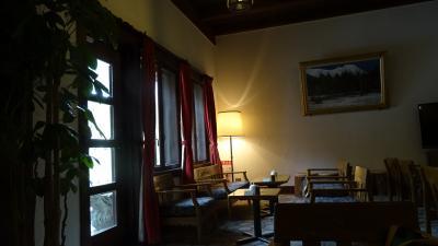 新緑の上高地散策の旅(09) 上高地・帝国ホテルでお茶。