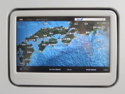 鹿児島 ANAプレミアムクラスと鹿児島空港ANAラウンジ!2015年6月