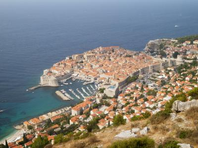 クロアチア・イタリア2013夏旅行記 【4】ドブロブニク3(スルジ山~旧市街)