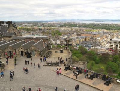 イギリスの旅(1)・・スコットランドの首都エジンバラの、エジンバラ城とロイヤル・マイルを訪ねて