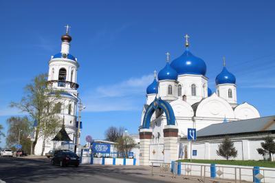 黄金の環への旅No.4 ウラジーミル ポクロヴァ・ナ・ネルリ教会 バガリュープスカヤ修道院