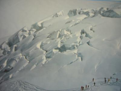 シャモニーでスキー