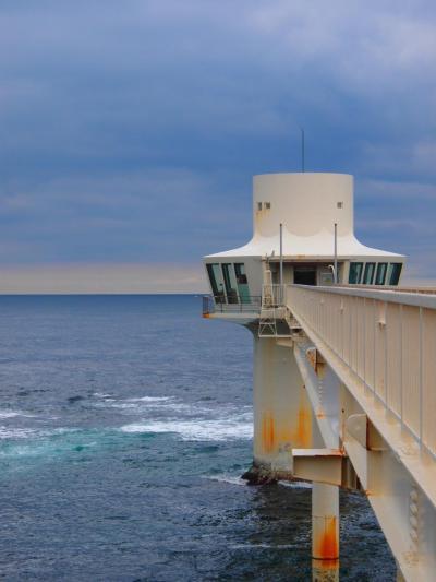 梅雨が来る前に! 青い海を求め房総へ01 伊勢エビ食べて海中展望塔へ