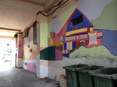 エレヴァンの壁画