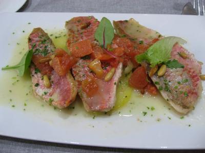 おすすめのランチ:コース料理は シルケン アマラ プラザホテルのレストランが美味しい。他、ピンチョスの情報。