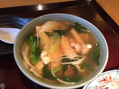 三沢空港・煎餅汁を食べに行く