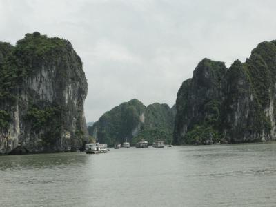 ベトナム・ハロン湾クルーズと古都ハノイ。