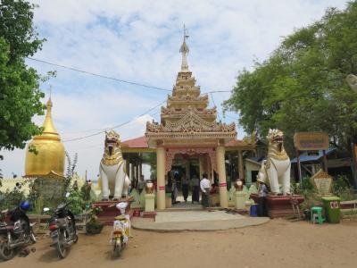 世界三大仏教遺跡の一つミャンマー・バガンを一人旅⑥(バガン観光-2日目電動自転車にてフリー観光)