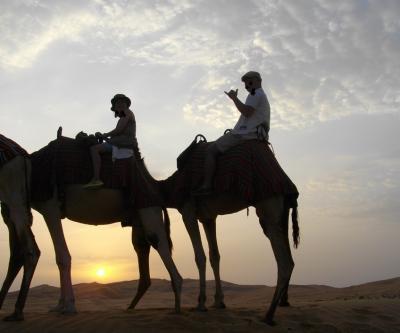 アブダビで砂漠と島を満喫~Vol1