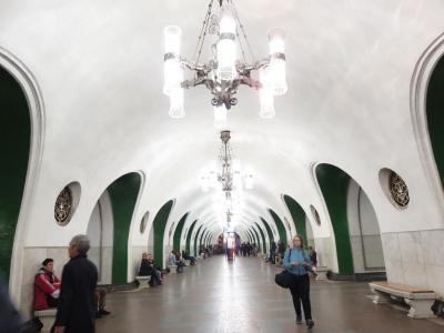 Russia ロシアのんびり旅行2 モスクワ② メトロに乗って遊園地へ