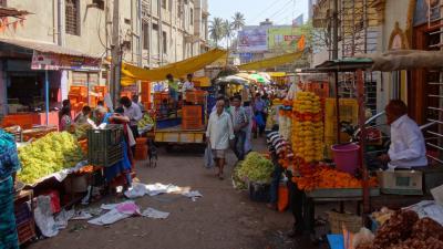 15年春節~インド南部の旅◇10 商工業都市フブリでひと休み