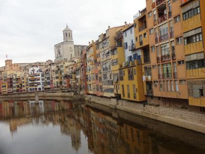 片言英語で行けちゃった! 第三弾☆ファシノーザ【サムサラスイート】で行く  イタリア、マルタ、バレアレス諸島、スペイン2015       ⑩ジローナ(スペイン)Girona AVEに乗れば バルセロナから30分。中世の街並みジローナ。