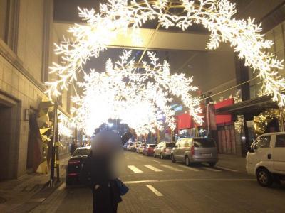 ソウルでクリスマスね