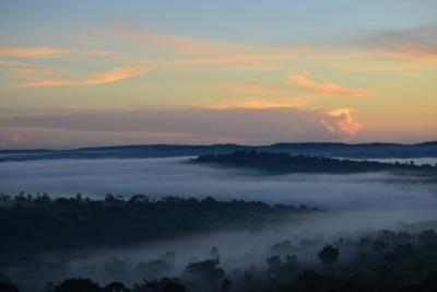 ウガンダ 高原の大自然の旅