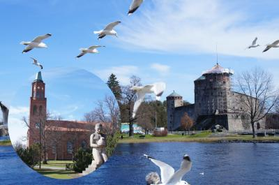 ドラゴンクエストのモデルとなったオラヴィ城があるサヴォンリンナ
