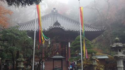 2012年11月26日:研修会ついでに、あちこち観光in伊香保温泉(初日) 水沢観音&伊香保石段