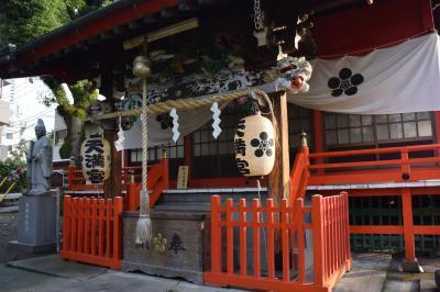 吉原祇園祭 1.おてんのさんの朝 2015.06.13