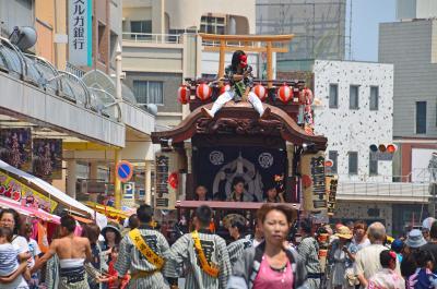 吉原祇園祭 2.おてんのさん(1) 2015.06.13