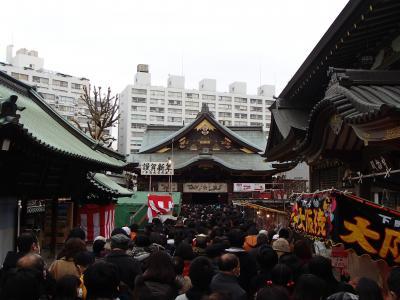 湯島天神で初詣~不忍池◆フィリピン旅行の後泊を東京で≪その2≫