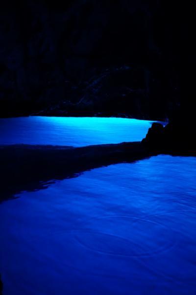 クロアチア個人旅行⑦ 青の洞窟 フヴァル島