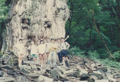 6000年を駆け抜けた旅 ~ 後半:縄文杉に抱きしめられた2日間