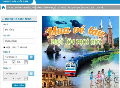 ベトナム統一鉄道は、重要な移動手段として利用されています。