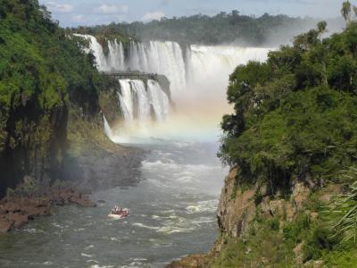 南米3カ国周遊の旅 イグアスの滝、 ブラジル側編