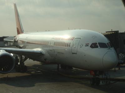 エアインディア AI333便搭乗記 バンコク・スワンナプーム(BKK)→デリー・インディラガンディー(DEL)