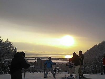 リステル猪苗代リゾート スキーで年越し