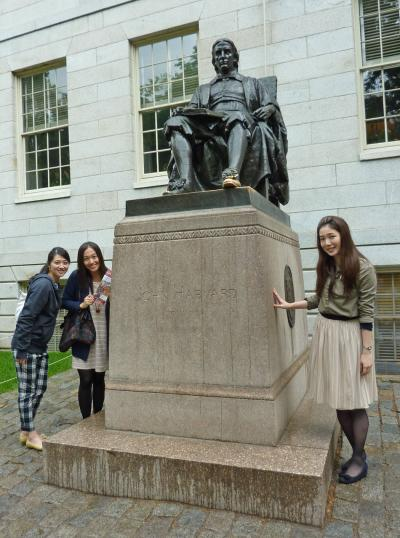ジーさんのユースホステル旅行 @ ボストンUSA 2015年 その5 ハーバード大学へ