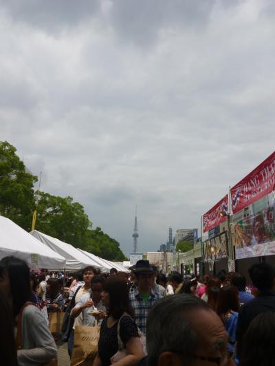 タイフェスティバル2015に行ってきました。